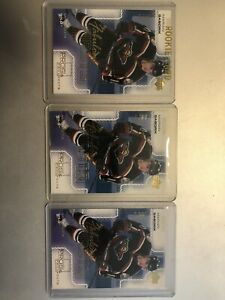 00/01 Pros & Prospects Fabulous Firsts Lot Of 3 Rookie RC Marian Gaborik /1000