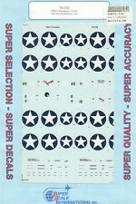 1/72 SuperScale Decals Marine F4U-1 Corsair VMF-213 Guadacanal 1943 72-738
