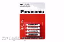 Pack 4 PANASONIC Zinc Carbon Batteries AAA R03 MN2400 UM4 1.5V (4x AAA Battery)