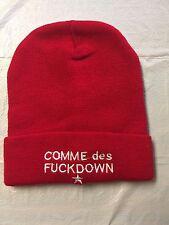 COMME DES FUCKDOWN WINTER BEANIE HAT CAP