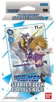 Bandai Digimon Cocytus Blue Starter Deck Box Sealed ENGLISH NEW IN STOCK