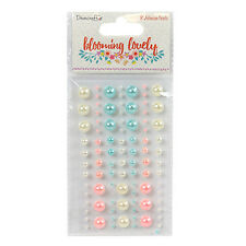 Blooming Lovely Pearls - 91 self-adhesive pearls assorted sizes