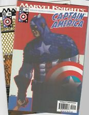 Marvel Knights 2004 Captain America 21 22 23 24 25 26 27 28 Bachalo Morales