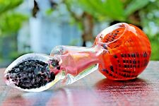 "4.5"" MAGIC COLLECTIBLE TOBACCO GLASS PIPE SMOKING HERB BOWL HAND PIPES"