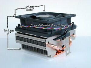 AMD FX Heatsink Cooling Fan for FX 4350, 4130 Series CPU's Socket AM2-AM3 - New