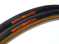 "Gommitalia Tire set Vintage Road Bike Lightweight jr 24"" NOS Lo Pro Pista"