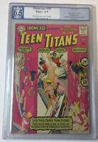 DC Comics SHOWCASE #59 ~ 3rd Teen Titans ~ PGX 6.5