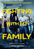 FIGHTING WITH MY FAMILY - Orig.Kino-Plakat A1 - Dwayne Johnson - GEROLLT
