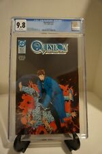 the Question #17 CGC 9.8 watchmen Rorschach appearance Denny O'Neil White Pages
