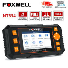 Foxwell Four System OBD2 Diagnostic Tool Engine ABS SRS AT EPB DPF Injector Scan