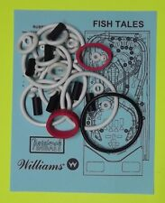 1992 Williams Fish Tales pinball rubber ring kit FT