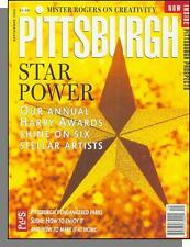 Pittsburgh Magazine - 1999, September - Stellar Artist Awards, Sushi, Parks