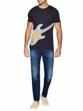 Hugo Boss Boss Orange Tedros 5 Gitarre T-Shirt, Größe S-XXL, schwarz