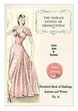 The Haslam System of Dresscutting No. 28 - 1950's  Copy