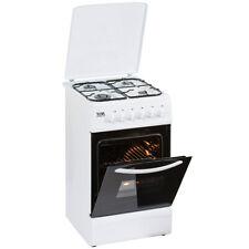 YUNA Standgasherd mit Elektrobackofen 85x50x60 EEK: A mit Kochfeldabdeckung