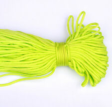 25FT 8m Multi III Stand 7 Cores 550 Paracord Parachute Cord Lanyard #27 Green-02