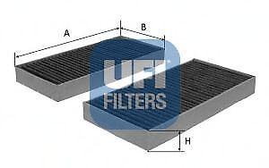 Filtro abitacolo UFI 54.172.00 CITROEN PEUGEOT