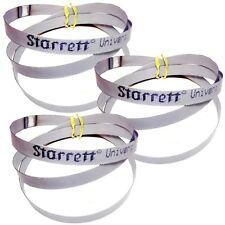 "3 Cobalt Portable Bandsaw Blades 14/18 TPI Porta Band Saw 44-7/8"" long - Starret"