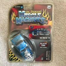 THE ORIGINAL MUSCLE MACHINES Series 1 1964 Pontiac GTO Chase car  1/64 DIECAST