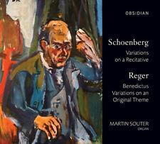 Arnold Schoenberg : Schoenberg: Variations On a Recitative/Reger: ***NEW***