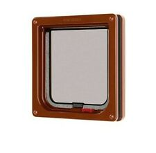 Cat Mate Lockable Cat Flap - Brown (304B)