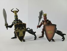 PAPO Fantasy Action Figures & Knights: WEAPON MASTERS KING & BULL KNIGHTS (Pair)