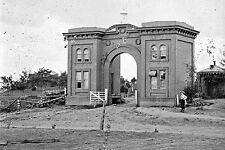 New 5x7 Civil War Photo: Evergreen Gate on Cemetery Hill After Gettysburg