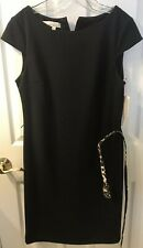 Kelly Diane Dress NWT Black Lined Size 12