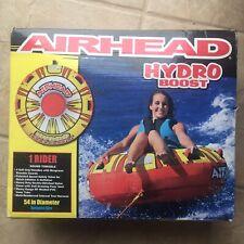 """New listing Airhead Hydro-Boost Towable Tube 54"""" wake board ski tube water sports inflatable"""