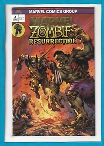 MARVEL ZOMBIES RESURRECTION #1_NM_UNKNOWN COMICS HULK #181 HOMAGE VARIANT!
