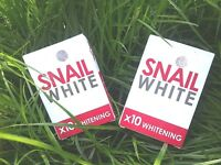 70g Snail White Soap Glutathione x10 Whitening Facial Body Cleaning Anti Aging