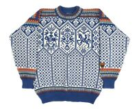 Mens Dale of Norway Lillehammer 1994 Olympic Sweater Fair Isle Knit Size 2XL