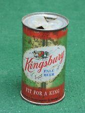 Kingsbury Beer, Kingsbury Breweries Sheboygan, Wis. Flat Top Can # 88-9