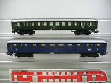 AM386-1# 2x Märklin H0 Personenwagen: 22-40224-3/Büm 232+10-40167-8/Aüm 202, DB