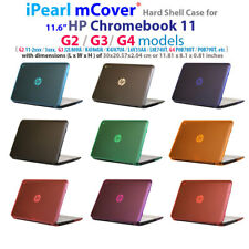 "NEW CLEAR mCover® HARD Shell CASE for 11.6"" HP Chromebook 11 G2 G3 G4 series"