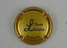 capsule champagne NOWACK cuvée laurine n°47 or