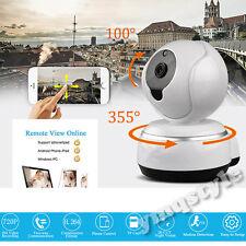 Wireless Wifi 720P HD IP CCTV Camera Security Network Night Vision Pan Tilt CAM