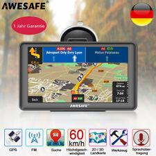 "Awesafe 7"" GPS Navi Navigation für LKW PKW Navigationsgerät 8GB Europa Karten"