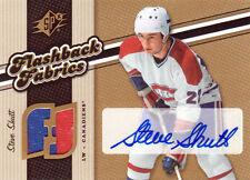 06-07 SPX Flashback FABRICS AUTO Steve SHUTT #139 - Canadiens