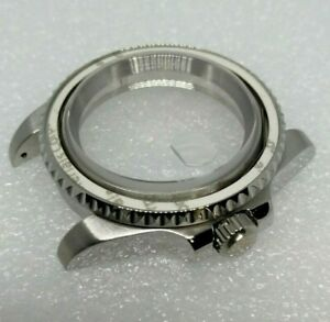 SUBMARINER DIVER STYLE WATCH CASE FOR SEIKO NH35 NH36 MOVEMENT SAPPHIRE CRYSTAL