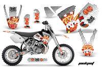 Dirt Bike Decal Graphics Kit Sticker Wrap For KTM SX65 SX 65 2002-2008 JACKPOT W
