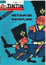 B13- Tintin N°699 Retour de Rataplan