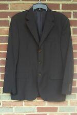 Neiman Marcus Mens Blue Wool Blazer Size 42RE