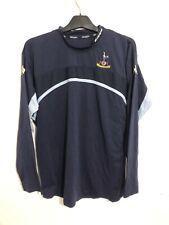 Tottenham Hotspur Training Football Shirt Large L Kappa Long Sleeve LS
