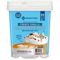 Member's Mark French Vanilla Cappuccino Beverage Mix (48 oz.) FREE SHIPPING