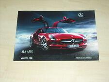 47123) Mercedes SLS AMG Prospekt 09/2009