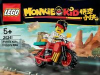 LEGO Monkie Kid - Monkie Kid's Delivery Bike Polybag 30341 - New & Sealed