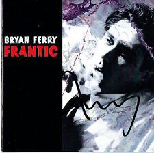 Bryan Ferry Hand Signed Autographed CD Album Booklet - Frantic Roxy Music