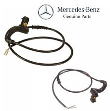 For Mercedes W123 W126 Set of Front Left and Right Brake Pad Sensor Cables OES