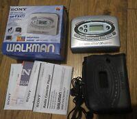 Sony Walkman WM FX477 Radio Cassette Player Boxed, Good Condition
